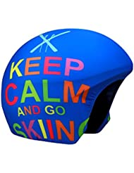 COOLCASC Multisport Couvre-casque KEEP CALM