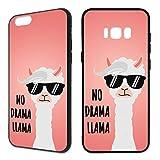 Premium Handyhülle 'Lama' für Samsung Galaxy - Silikon | Alpaca | Alpaka, Handy:Samsung Galaxy A5 (2016), Hüllendesign:Design 1 | Silikon Schwarz