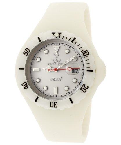 Swiss Legend jy25mk–Reloj de pulsera, caucciú,) Color Blanco
