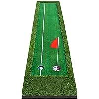 Jia He Tapetes de Golf Práctica de Golf Indoor Putter Putter Practice Outdoor 2 Color 2 Tamaño Opcional @ (Color : 2#, Tamaño : 50cm)