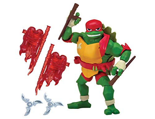 Teenage Mutant Ninja Turtles tuab0100 Raph der Führer der Aufstieg Basic Action (Ninja Turtles Figur)