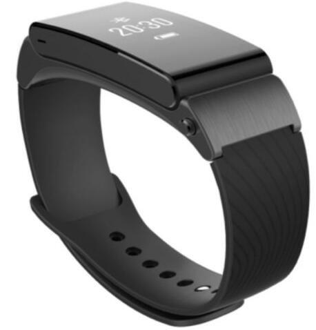 Huawei Talkband B2 Smart Wristband Bluetooth Wearable Sports Bracelet Headset Health Fitness Activity Tracker Black