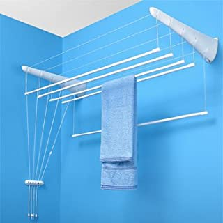 Wall-mounted airer 5 rails of 180 cm