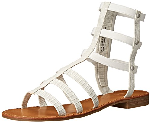 Chinese Laundry Gear Up Synthétique Sandales Gladiateur Lizard White