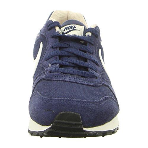 Nike Damen, Sneaker, Md Runner 2 Blau (Binary Blue/Sail/Oatmeal)