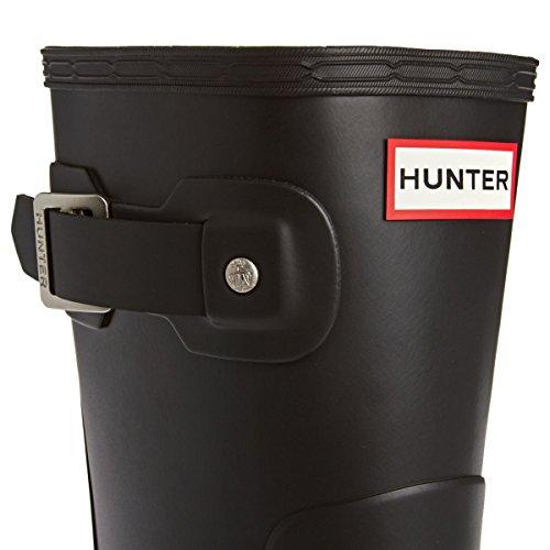 Hunter Homme Wellies courtes originales, Noir Noir - Noir