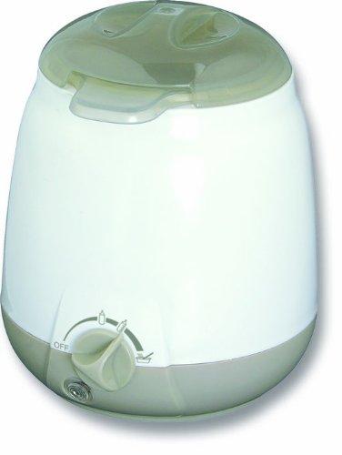 Preisvergleich Produktbild H+H BS 21 Flaschenwärmer (für Babyflaschen, Milch und Brei, 6 bis 10 Minuten, Bis 70mm Babyflasche, Fläschchenwärmer mit Warmhaltefunktion, Breiwärmer für Babynahrung)