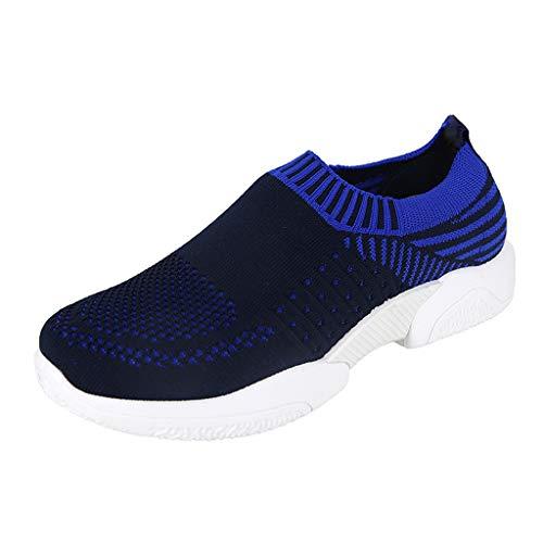 POLPqeD Scarpe da Donna Corsa Leggere Sport Scarpe Casual Mesh Slip on Respirabile Sneakers