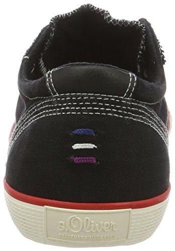 s.Oliver Herren 14603 Sneakers Schwarz (Black 001)