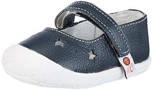 Rose & Chocolat Ballet Slippers, Chaussures Marche Bébé Fille Bleu Marine