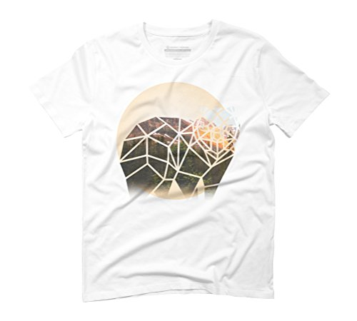 Bear Men's Graphic T-Shirt - Design By Humans White