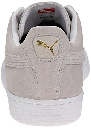 Puma Suede Rubber Toe Daim Baskets Gray Violet-White