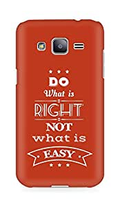 Amez Do what is Right Not what is Easy Back Cover For Samsung Galaxy J2