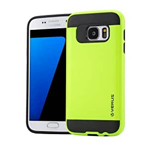 Crazy4Gadget VERUS for Samsung Galaxy S7 / G930 Brushed Texture Silicone + TPU Protective Case(Light Green)