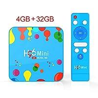 Sausiry H96 Mini H6 TV Box Android 9.0 4GB RAM 128GB ROM Dual Band 5G WIFI Bluetooth 4.0 4K 6K Ultimate HD Video Smart Box