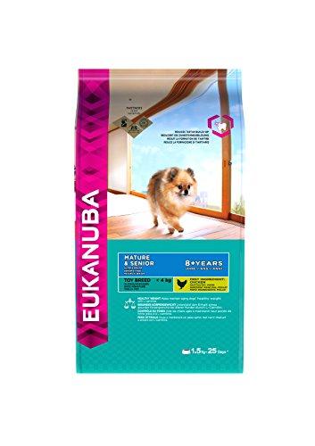Eukanuba Toy Senior Trockenfutter (für ältere Hunde sehr kleiner Hunderassen ab 7...