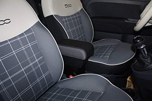 filocar Design Armlehne FIAT 500 Original mit integriertem Aufbewahrungsfach