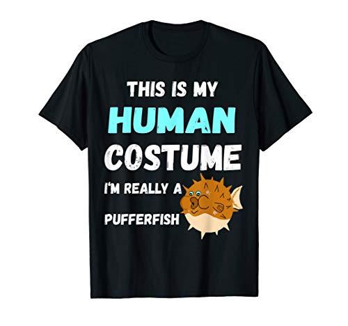 Kugelfisch Pufferfisch Fugo Menschliches Kostüm Fisch (Lustige Meeresbewohner Kostüm)