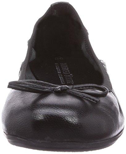 Marco Tozzi Cool Club 42403 Mädchen Geschlossene Ballerinas Schwarz (Black / 1)