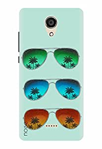 Noise Designer Printed Case / Cover for Micromax Canvas Unite 4 Q427 / Nature / Tropical Shades