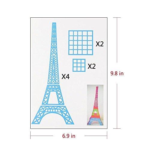 3D Pen Schablonen,3D Pen Stencils 3D Drucker Stift Papier Stencils/ 20 Seiten Verschiedene Papier Patterns/ New Design Papier Formen für 3D Druck Feder,3D-Zeichnungs Feder und 3D Gekritzel Feder/ 3D-Modellbau Arts & Crafts Zeichnung/ Bunte 3D Druckmuster. - 6