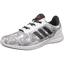 adidas Men's Adi Pacer Elite 2.0 M White, Visgre, Dkgrey and Energ Running Shoes - 9 UK/India (43.33 EU)