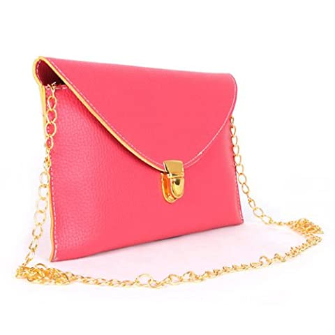 Femme Women Candy Color Envelope Bags Clutch Bags tracollas