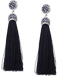 1101ffe144da YAZILIND Drop Dangle pendientes piercing borla colgante hermoso rhinestone  mujeres oreja de regalo de joyería