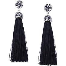 9e6df65849d3 YAZILIND Drop Dangle pendientes piercing borla colgante hermoso rhinestone  mujeres oreja de regalo de joyería