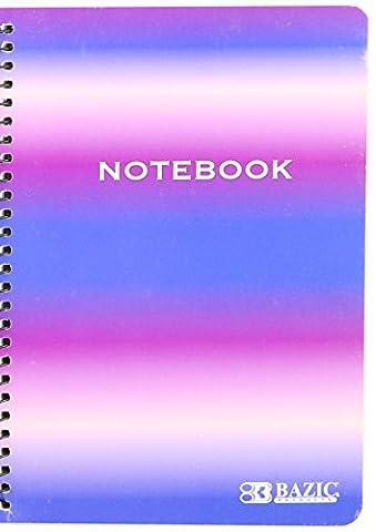 Bazic 120ct. 12,7x 17,8cm Persönlichen/Zuordnung Spirale Notebook