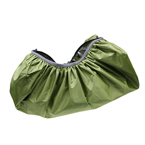 Magicdeal Travel Hiking Rucksack Backpack Bag Pack Waterproof Rain Cover S Army Green  available at amazon for Rs.210