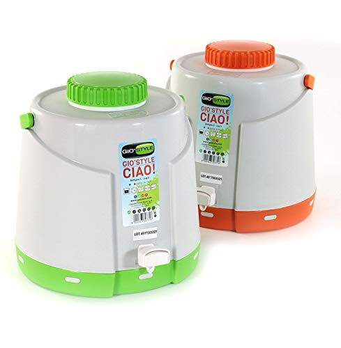 COLOMBO SMART PLASTIC S.P.A. Bottiglia 5 LT Ciao GIOSTYLE Borraccia Termica con...
