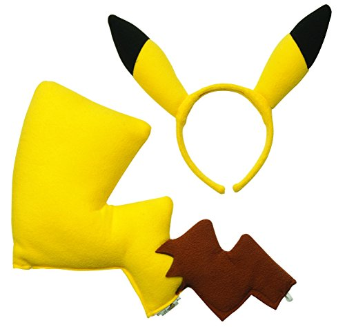 tüm Kit für ein Kind (Pokemon Pikachu Kind Kostüme)