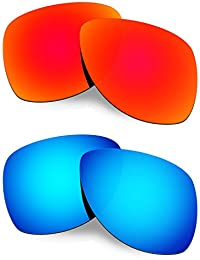 Hkuco Plus Mens Replacement Lenses For Oakley Dispatch 2-2 pair