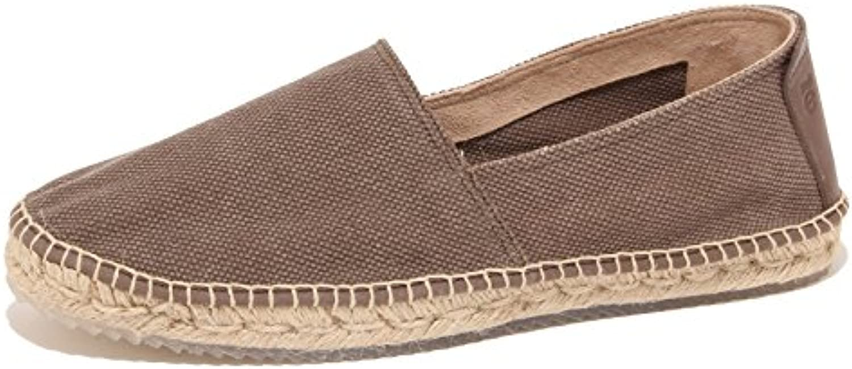3506P mocassino ESPADRILLES marrone scarpa uomo shoe men