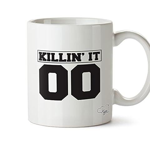 Hippowarehouse Killin Il 00(Pocket) 283,5gram Mug Cup, Céramique, blanc, One Size (10oz)