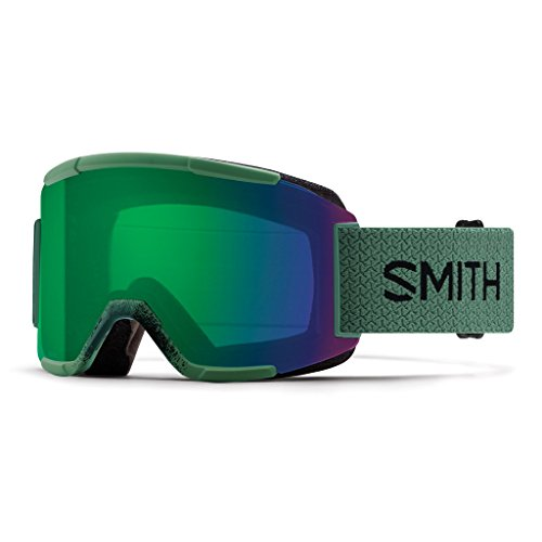 Smith Squad Goggles, Olive/Chromapop Everyday Green Mirror, One Size -