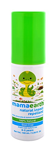 Mamaearth Natural Insect Repellent for babies (100 ml, 0-5 Yrs)