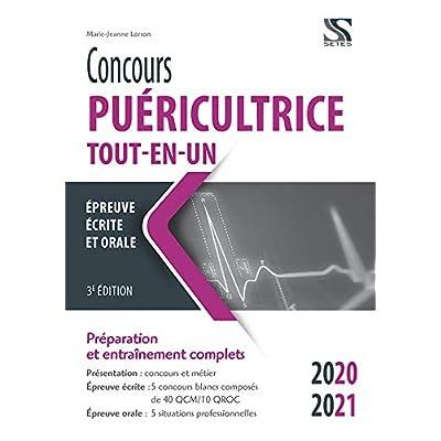 Concours puéricultrice Tout-en-un 2020-2021
