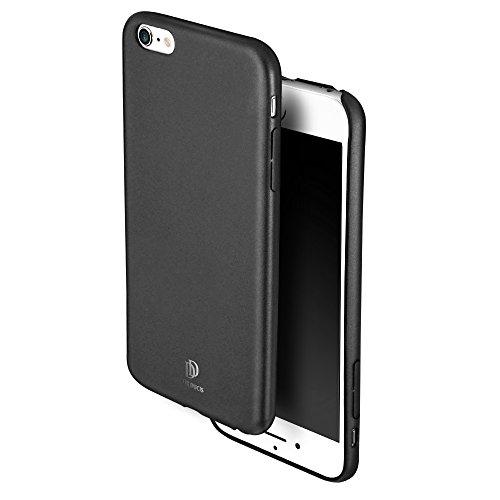 Galleria fotografica Cover Custodia iPhone 6 / 6S 4,7'' Ecco Pelle PU, Slim Sottile Interno TPU Morbido, Case Premium Protezione Posteriore Flessibile DUX DUCIS (Grigio Scuro)
