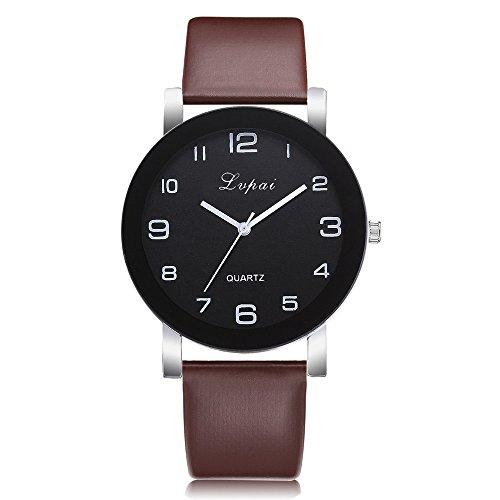 Uhren Damen Armbanduhr Geneva Mode Leisure Sportuhr Analog Leather Quartz Wrist Watch Watches Uhrenarmband Watch,ABsoar (Timex Mechanische Uhr)
