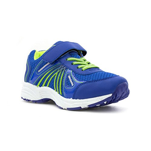 Tick Boys Royal Blue Easy Touch Trainer - Size 3 - Blue