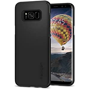 Spigen Thin Fit Case for Samsung Galaxy S8 - Black 565CS21624
