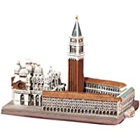 Paben Arte e Storia Souvenir Venezia Italia Piazza San Marco 3D in Resina cm. 10 x 6,5