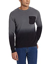 Wrangler Mens Cotton Sweater (8907222669256_W15102719912_X-Large_Frost Grey)