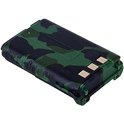 TOOGOO Original Baofeng UV-5R BL-5 Bateria de Iones de Litio Baofeng UV-5RE de 7.4V 1800mah Accesorios de interfonos BF-F8HP Radio bidireccional UV5R
