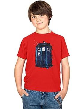 NERDO - Police Box Splash - Kinder T-Shirt