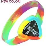 Pickbandz Armband Small Peace Out Tie Dye Size S