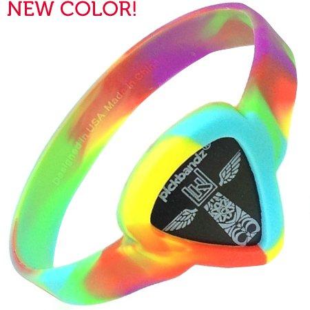 Pickbandz Armband Peace Out Tie Dye Size M/L