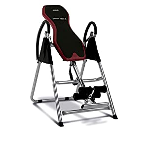Bh Fitness Unisex's Zero Adjustable Foldable Inversion Table, Black/Red